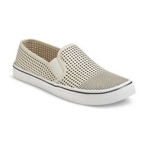 Mossimo Perforated Slip On Shoes